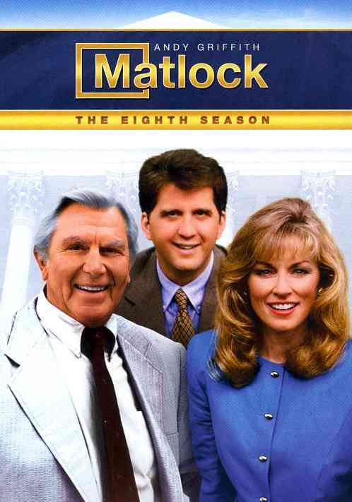 MATLOCK:EIGHTH SEASON BY MATLOCK (DVD)